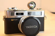 Yashica ELECTRO 35 GSN Rangefinder Film Camera w/ viewfinder attachment tested
