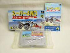 Super 4WD The BAJA Item REF/ccc Super Famicom Nintendo JAPAN Game sf