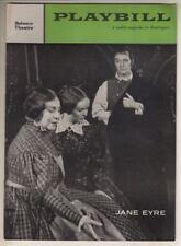 """Jane Eyre""   Playbill  1958   BROADWAY  Blanche Yurka, Eric Portman, Jan Brooks"
