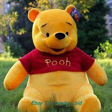 "Fashion Giant Plush Winnie Pooh Bear Doll Toy 100cm/38"" H Handmade kids gifts"