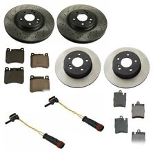 Mercedes W203 C230 C280 Front and Rear Brake Discs Pads Sensors Kit Top Quality