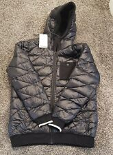 Holden Men's Reversible Hoodie Jacket Large Black NEW 700 Fill Retails $300