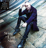 Sting – The Last Ship Vinyl LP Cherry Tree 2013 NEW/SEALED 180gm
