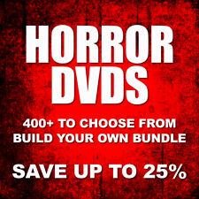 Massive Horror Dvd Collection / Save 25% when you bundle / 370+ (Part 1 of 2)