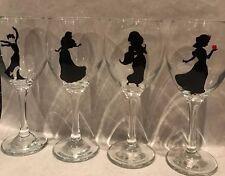 Disney Princess Wine Glass Set