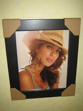 Leona Lewis Gorgeous Framed Signed Photograph (10X8) with CoA - FREEPOST