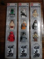Lego Star Wars MiniFigures Lot Set  30th Anniversary  Limited Edition  Promo