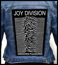 JOY DIVISION --- Giant Backpatch Back Patch / Stone Roses Happy Mondays