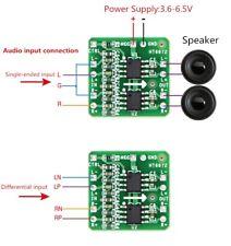 3W+3W Differential Amplifier Board Module Digital Class D Audio Amp 3.6-6.5V