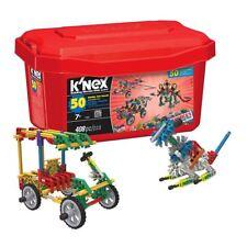 New K'nex 50 Model Big Value Building Set 408 Piece Imagine Official