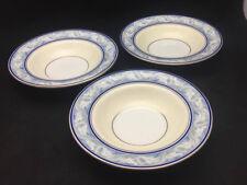 Royal Doulton The Tewkesbury Rim Soup Bowls (set of 3) - English China