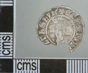 Great Britain England Edward I-III Medieval Hammered Silver Penny Coin London