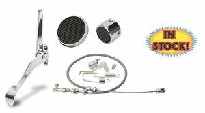 Lokar KSPO-6070 KIT - Chrome Spoon Pedal Kit