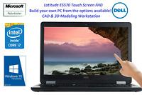 Dell Latitude E5570 Core i7 8G 16G 32G RAM   500G SSHD Touch 1920X1080 Win 10