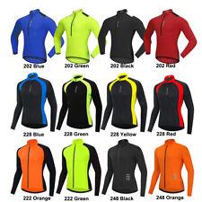 Hombre Ciclismo Jersey de manga larga Bicicleta Ciclo Top Deportes Camisa