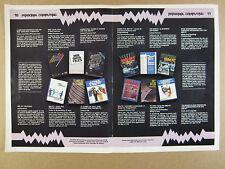 1983 B. Dalton Computer Books Apple IBM Atari TRS VIC 20 page vintage print Ad