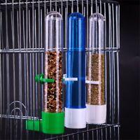 Pet Bird Parrot Drinker Food Feeder Waterer Clip Bowl Cage Feeder Supplies UK