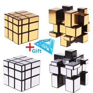 3x3x3 Magic Mirror Cubes Cast Coated Puzzle Professional Speed Magic Cube Magic