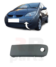 FOR MITSUBISHI COLT 04-08 FRONT BUMPER MOLDING WITH HOLE FOR PAINTING LEFT