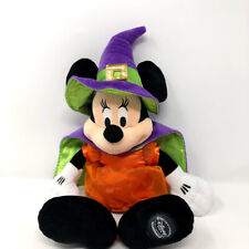 Disney Store Minnie Mouse Halloween Witch Plush Doll
