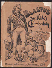 BLASTUS: THE KING'S CHAMBERLAIN - W. T. STEAD  Review Annual  1896 very rare !!