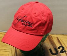 "NEFARIOUS CELLARS WINE HAT RED ADJUSTABLE ""WICKEDLY GOOD WINE"" VERY GOOD COND U2"