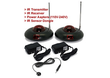 Wireless IR Remote Range Extender Kit With Retractable Adjustable Antenna