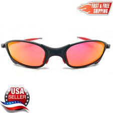 New listing Juliet X-Metal Sunglasses Polarized Ruby Iridium Metal Frames for Oakley Lenses