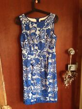 Events womens size 8 blue lace look dress bnwots