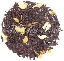 Ginger Peach Loose Leaf Flavored Black Tea - 1/4 lb