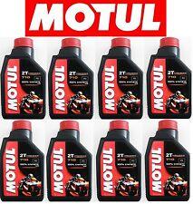 MOTUL OLIO MOTORE 710 2T 100% SINTETICO MISCELA TECN. ESTERE ANTIFUMO 8 LITRI