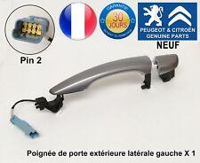 Peugeot 308 508 Expert Traveller Poignée de porte extérieure latérale gauche Neu