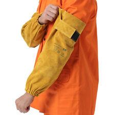 """AP-9119 Popular Heat Resistant 19"""" Long Split Cowhide Leather Welding Sleeves"""