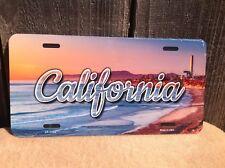California Beach Coast USA Scenic Skyline Novelty License Plate Bar Wall Decor