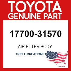 TOYOTA GENUINE 1770031570 CLEANER ASSY, AIR 17700-31570