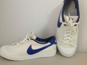 Mens Nike Vintage 1980's basketball,tennis shoes,sneakers,size 11, white canvas