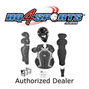 All-Star Player's Series CKCC1216PS Intermediate Catcher's Gear Set - Black