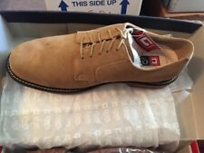 Chaps Michigan Sand Suede Men's Oxford Lace Up 11M. New In Box