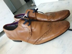 Ted Baker Mens Leather Formal Shoes 8
