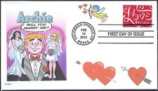 THE ARCHIES   WILL YOU MARRY ME    ARCHIE  VERONICA  BETTY     FDC- DWc CACHET