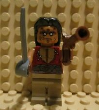 LEGO 4191 Pirates of the Caribbean Captain's Cabin Yeoman Zombie Gun Minifigure