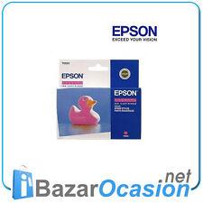 Cartucho de Tinta Epson Color Magenta T0553 Original Nuevo Oct. 2008
