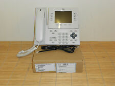 NEU Cisco CP-9951-WL-K9 White Slimline Handset SIP VoIP Phone Telefon NEW OPEN