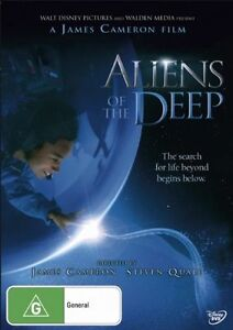 Aliens Of The Deep Documentary James Cameron * PAL * FREE TRACKED POSTAGE