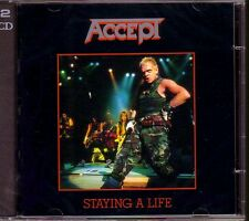 2 CD (NEU!) . ACCEPT - Staying a Life (Live in Japan 1985! / Metal Heart mkmbh