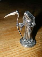 Clarecraft Discworld Terry Pratchett Death pewter miniature
