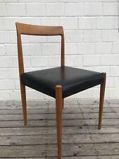 Lübke Stuhl Esszimmerstuhl Holz Teak Danish Modern Design Stuhl Dining Chair