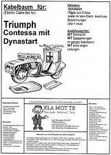 KA_TR_12    Kabelbaum Triumph Contessa  Dynastart,  wiring harness