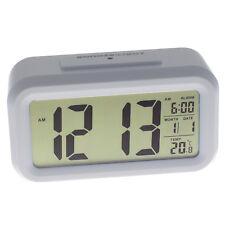 Digital Wecker Alarmwecker Uhr Kalender Beleuchtet Nachttisch Schlummerfunktion