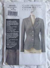 Vogue 8333 Claire Shaeffers Jacket Pattern UNCUT 6 8 10 Petite Custom Couture
